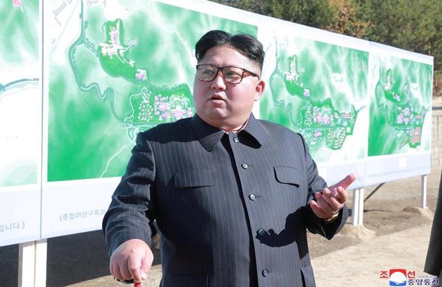 朝鮮官方高調公布新型戰術武器 金正恩現場指導